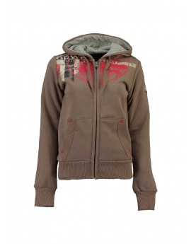 Sweat Femme Geographical Norway Gasmine Taupe