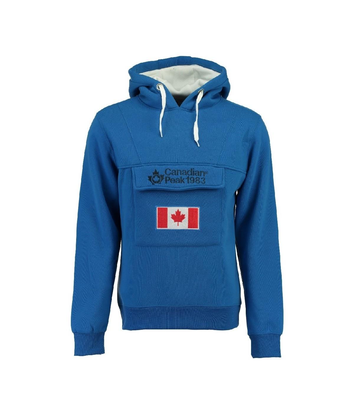 sweat homme canadian peak gadreak bleu showroomvip. Black Bedroom Furniture Sets. Home Design Ideas