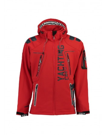 Softshell Homme Geographical Norway Toublerona Rouge