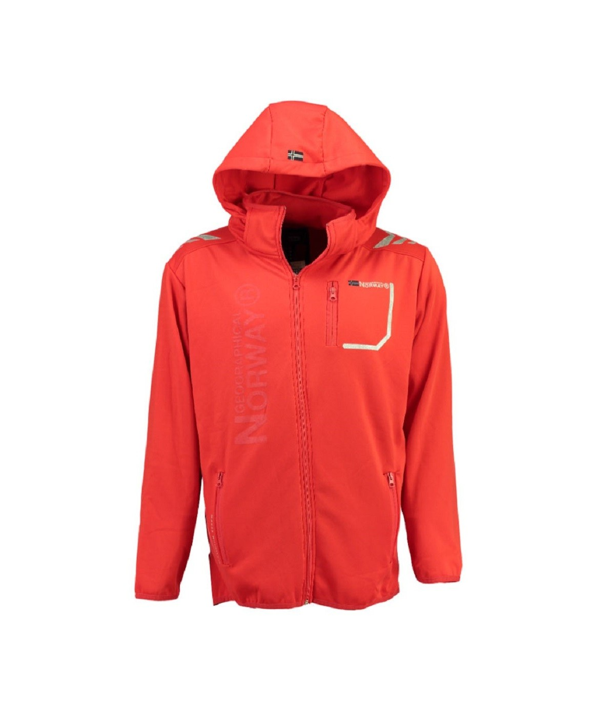 Softshell Homme Geographical Norway Tortue Rouge