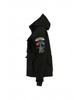 Softshell Femme Geographical Norway Topale Noir