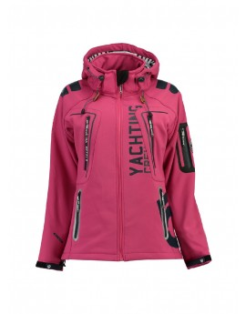 Softshell Femme Geographical Norway Tibiscuit Rose