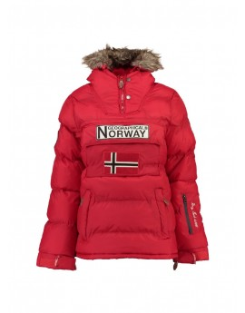 4af941bd5 Doudoune Femme Geographical Norway Bianca Rouge