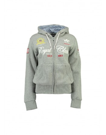 Sweat Enfant Geographical Norway Fanille Gris Clair