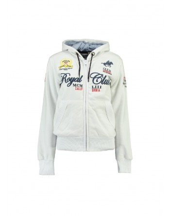 Sweat Enfant Geographical Norway Fanille Blanc