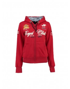 Sweat Enfant Geographical Norway Fanille Rouge