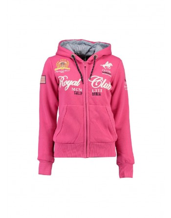Sweat Enfant Geographical Norway Fanille Rose