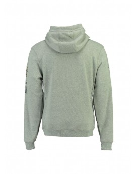 Sweat Homme Geographical Norway Gymclass New Gris Clair