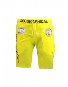Maillot de Bain Homme Geographical Norway Quorban B Jaune