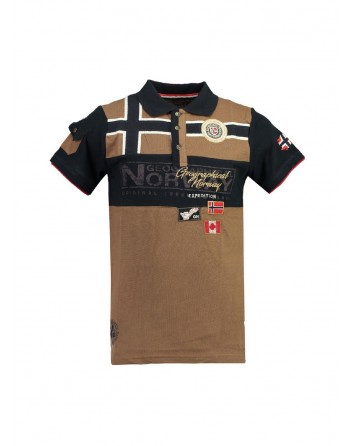 Polo Homme Geographical Norway Klipo Taupe