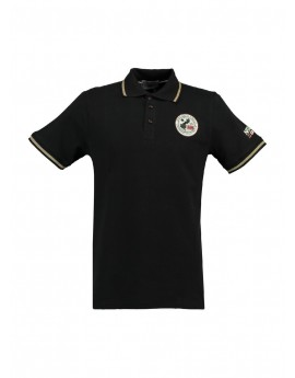 Polo Homme Geographical Norway Kamelo Noir