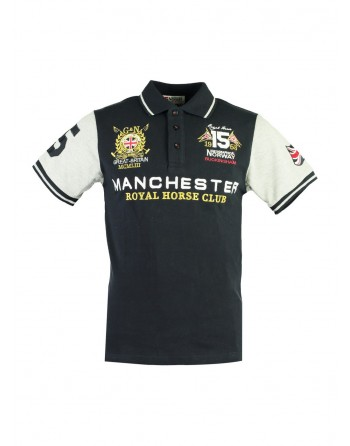 Polo Homme Geographical Norway Kingston New Marine