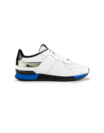 Basket Homme Cruyff Cosmo Blanc et Bleu