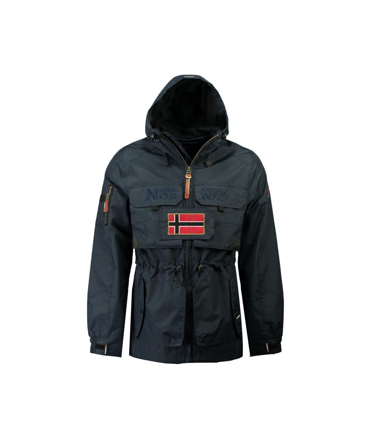 Vestes Homme Geographical Norway Butcher Marine