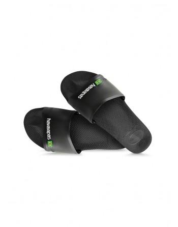 Sandale Homme Havaianas Slide Brasil Noir