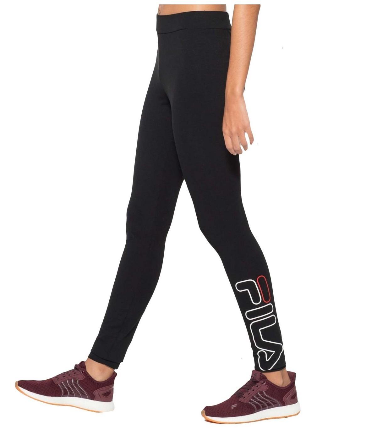 Fila 2 Flex Legging Femme 5 NoirShowroomvip Yyb67fgvI