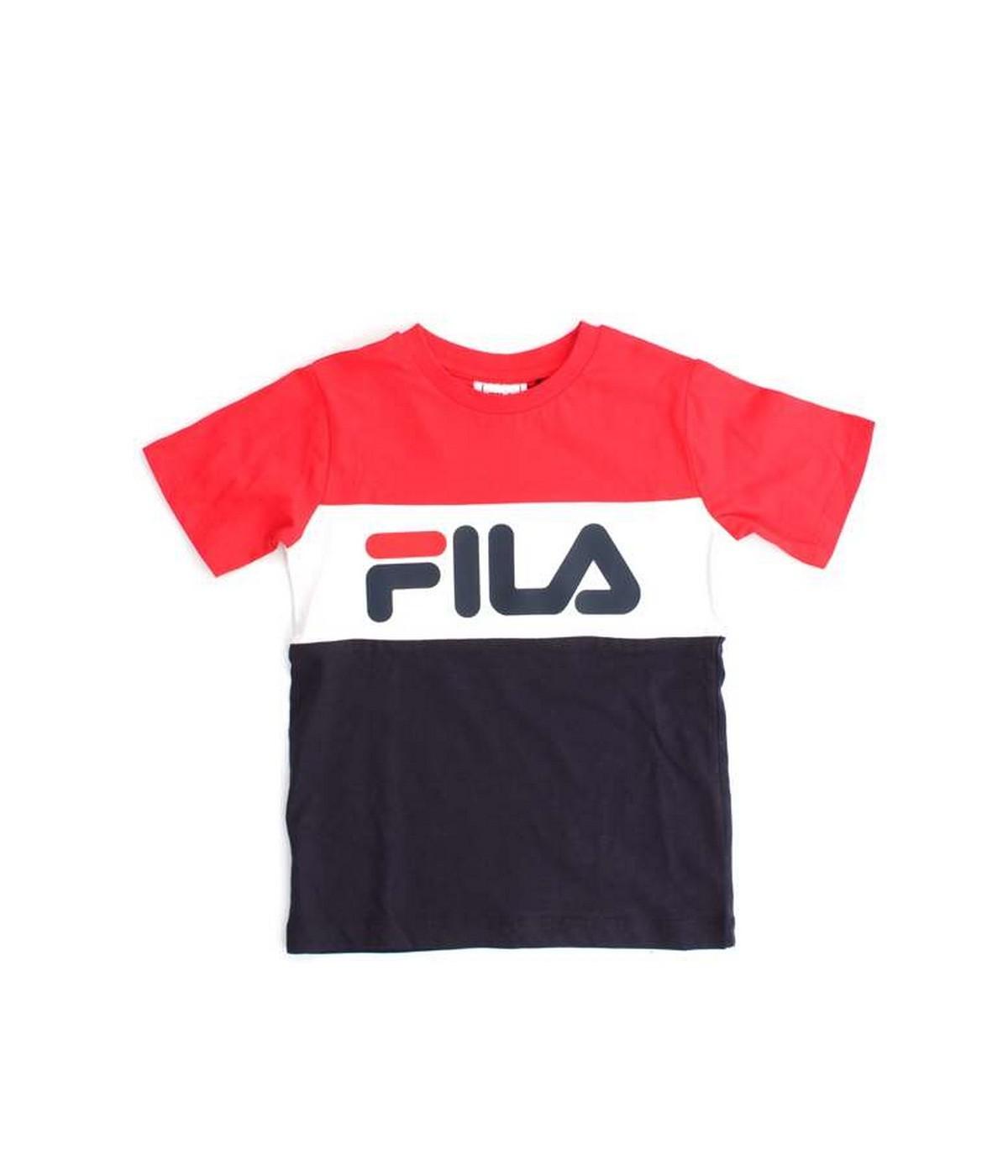 nice shoes best shoes 100% authentic Tshirt Enfant FILA Classic Day Marine | SHOWROOMVIP : T-shirts manches  courtes Garçon