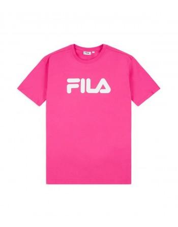 Tshirt Enfant FILA Classic Logo Rose