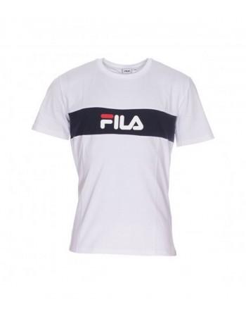 Tshirt Homme FILA Nolan Blanc