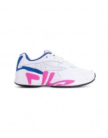 Basket Femme FILA Mindblower Blanc Fuschia Bleu