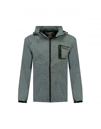 Softshell Homme Geographical Norway Texshell Bleu
