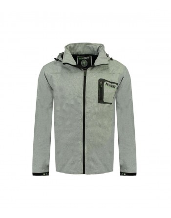 Softshell Homme Geographical Norway Texshell Gris Clair