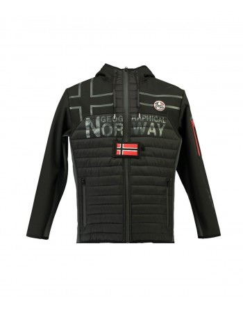 Softshell Homme Geographical Norway Tiako Noir