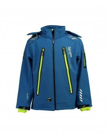 Softshell Homme Geographical Norway Torry Bleu