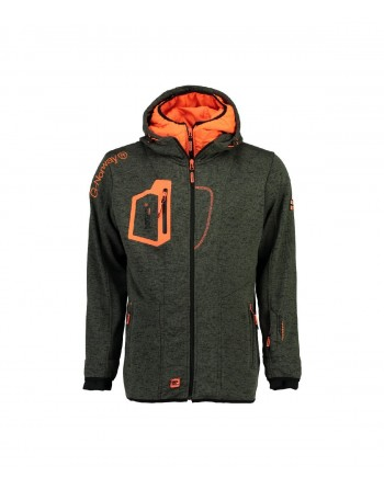 Polaire Homme Geographical Norway Usidor Gris