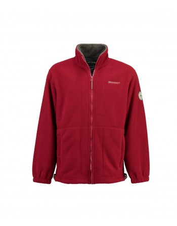 Polaire Homme Geographical Norway Torleon Rouge