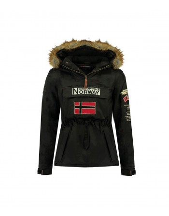 Parka Homme Geographical Norway Barman Noir