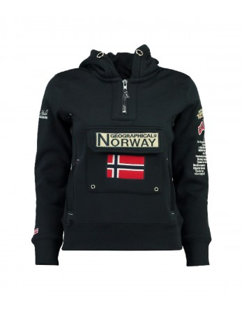 Sweat Fille Geographical Norway Gymclass New A Marine