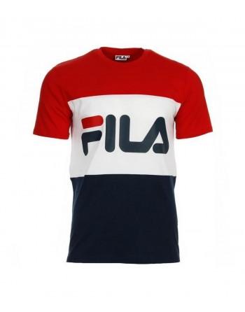Tshirt Homme FILA Day Rouge Noir Blanc