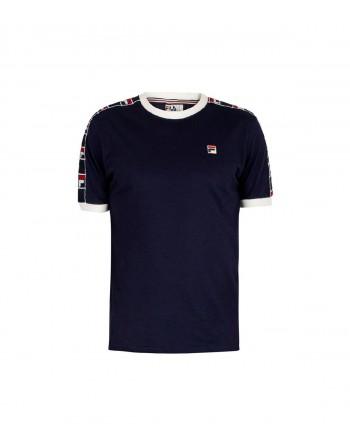 Tshirt Homme FILA Luca F Box Marine