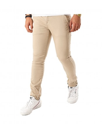 Pantalon Homme Redskins Hello Tall Beige