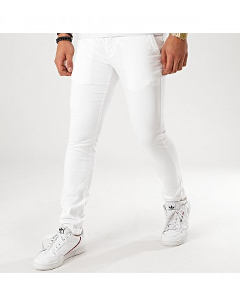Pantalon Homme Redskins Hello Tall Blanc