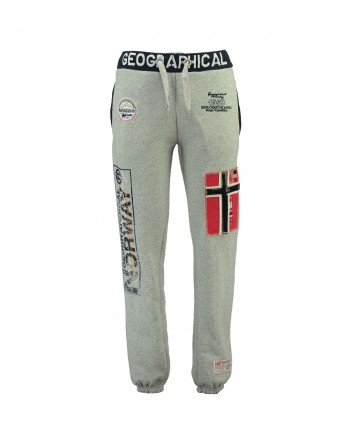 Jogging Homme Geographical Norway Myer New Gris Clair