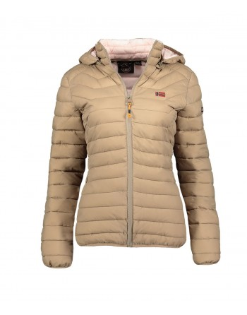 Doudoune Enfant Geographical Norway Astonisha Hood Taupe