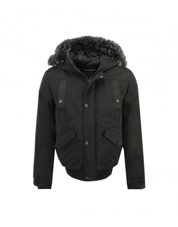 Parka Homme Geographical Norway Belin Noir