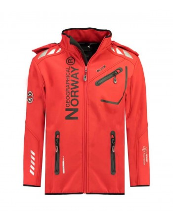 Softshell Homme Geographical Norway Royaute A Rouge