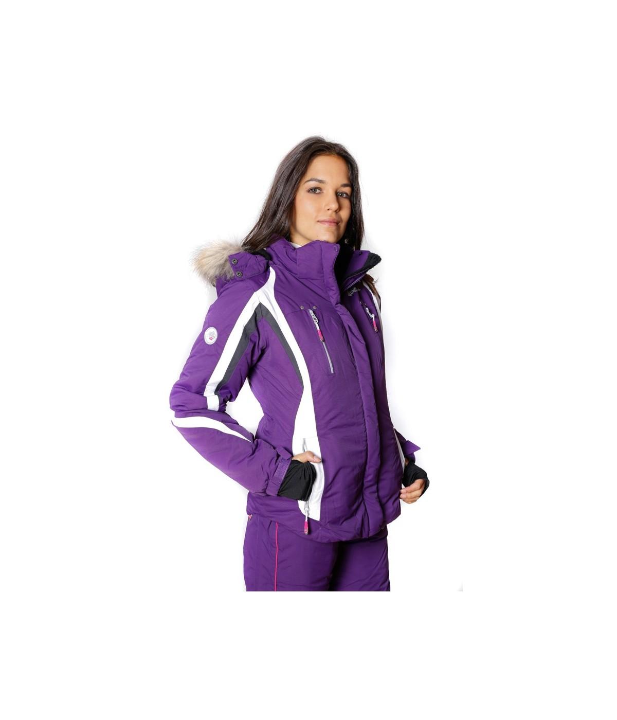 Blouson de Ski Geographical Norway Veronique Violet