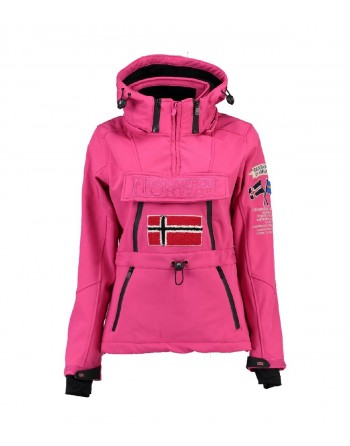 Softshell Femme Geographical Norway Topale 007 Rose