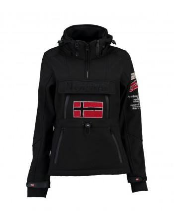 Softshell Femme Geographical Norway Topale 007 Noir