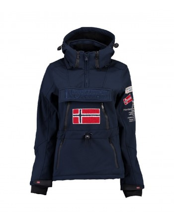 Softshell Femme Geographical Norway Topale 007 Marine