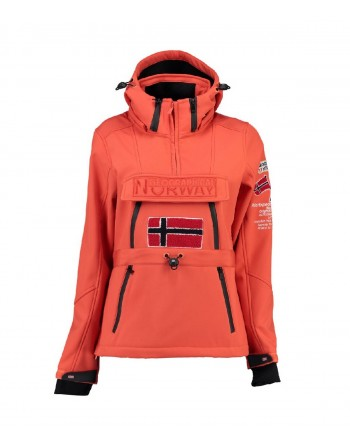 Softshell Femme Geographical Norway Topale 007 Orange