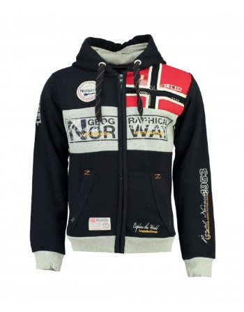 Sweat Homme Geographical Norway Flyer 007 Marine