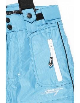 Pantalon de Ski Fille Geographical Norway Wonderfull Turquoise