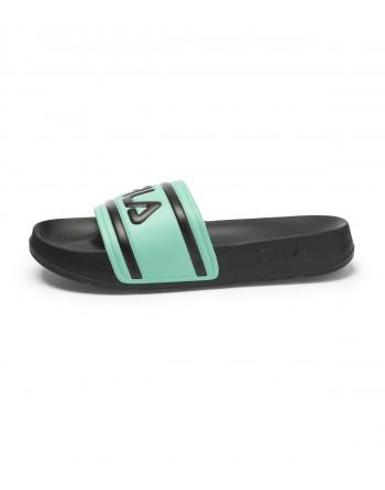Sandale Femme FILA Morro Bay Slipper 2.0 Noir et Vert