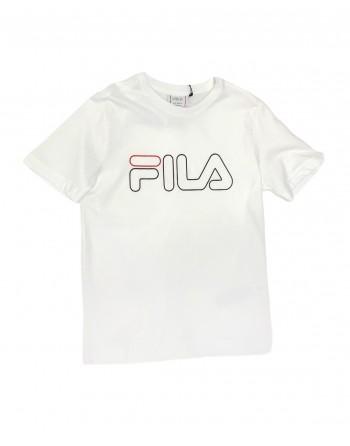 Tshirt Enfant FILA Marcello Blanc