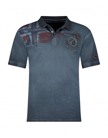 Polo Homme Geographical Norway Kamo 415EO Marine